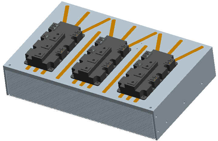 Friction Stir Welding >> Solar Energy converter Heat Sink Thermal Solution Catalog List-Power Conversion-Walmate Thermal