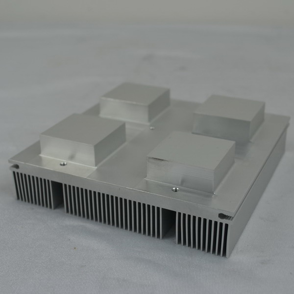 Secondary CNC process, Extrusion Heatsink