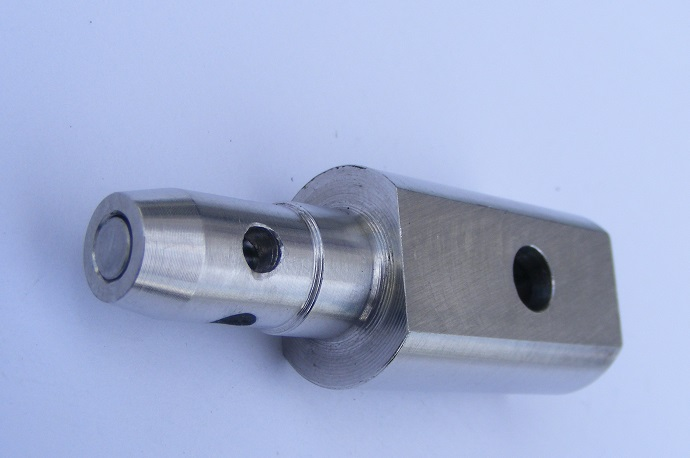 CNC Lathe Machining Aluminum Contact Parts