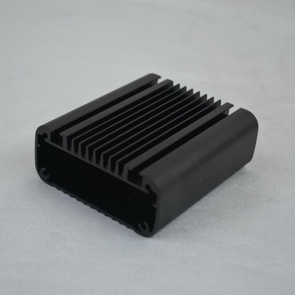 Rectangular Tube Extrusion Heat Sink