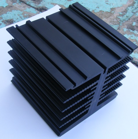 I Beam Extrusion Heat Sink Thermal Solution