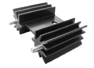 TO220 Extrusion Heat Sink Thermal Solution