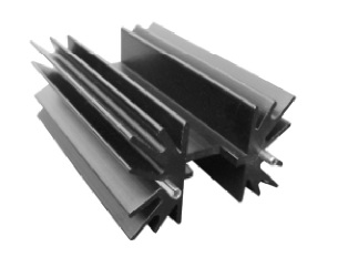 Extrusion Board Level Heat Sink Solution Tin Pin Welding